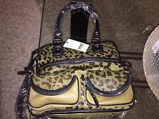 NWT Aimee Kestenberg  Camouflage Calf Hair Pebble Leather Handbag