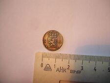 1/2 Cent 1851 , Willem , gut erhalten