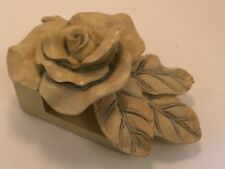 Drapery Sconce Rose Flower Ornate Shabby Chic Home Decor One Available