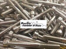 (5) M8-1.25 x 80mm Socket / Allen Head Cap Screw Stainless Steel 8mm x 80mm