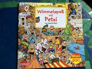 Maxi Pixi - Wimmelspass mit Petzi von Henrik Rehr