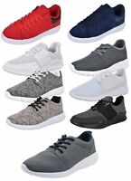 Mens Trainers Mesh Comfy Boots Fitness Sports Running Gym Casual Sneakers Shoes
