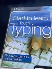 Anfangen zu lernen Touch Typing PC Spiel