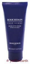 BOUCHERON POUR HOMME AFTERSHAVE BALM UNBOX 3.3/3.4 OZ/ 100 ML BY BOUCHERON