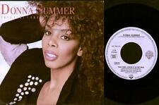 "DONNA SUMMER This Time I Know It'S For Real  7"" German Issue Vinyl Single, Ps, B"