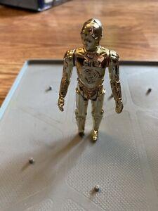 Star Wars C-3PO Vintage Loose Action Figure Kenner 1977 Super Paint Original