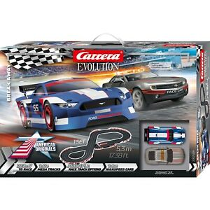 Carrera Evolution 25236 Break Away analog slot car race set