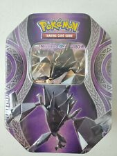 Pokemon Tcg Mysterious Powers Necrozma Gx Tin Set Sealed 4 packs