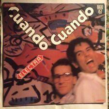 ELECTRA • Cuando Cuando • Vinile 12 Mix • 1985 Carrere