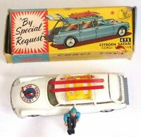 Corgi 475 Citroen Safari Olympic Winter Sports with Skier n/mint Original box