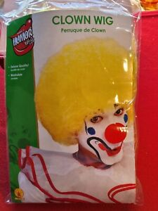 Rubies Yellow Clown Wig