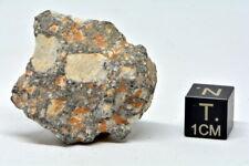 Lunar meteorite NWA 11474 weight 14.45 g found 2017 very nice !