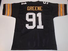 UNSIGNED CUSTOM Sewn Stitched Kevin Greene Black Jersey - Extra Large
