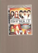 DISNEY SING IT Pop Hits !!! Incontournable sur PS 3. Jeu NEUF Blister
