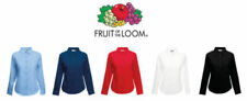 Fruit of the Loom Tops & Shirts for Women with Buttons