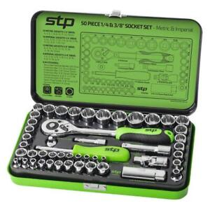 "Supatool 50 Piece Socket Set 1/4"" & 3/8"" Drive - Metric & Imperial STP2050"