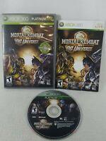Mortal Kombat vs. DC Universe (Xbox 360, 2008) Platinum Hits Complete