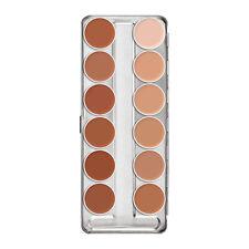 Kryolan 1004 Supracolor Makeup Palette 12 Colors - Brand New Color