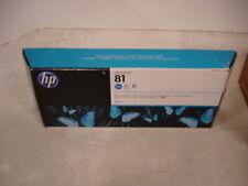 GENUINE HP C4931A 680 ml CYAN DYE DESIGNJET 81 INK CARTRIDGE