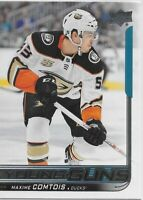 2018-19 Upper Deck #216 Maxime Comtois YOUNG GUNS Rookie > Anaheim Ducks