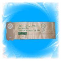 Staubsaugerbeutel - Filter für Vorwerk Kobold >> 118 119 120 121 122 << (6028)