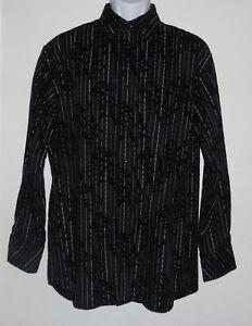 NEW BLACK OUTLOOKS DRESS SHIRT MEN'S MEDIUM NWT $40 BUTTON DOWN LONG SLEEVE*