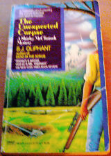 THE UNEXPECTED CORPSE by B.J. OLIPHANT A Shirley McClintock Mystery PB 1990 1st