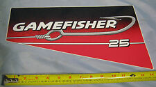 OEM Sears Gamefisher 25 HP Outboard Boat Motor Port Cowl Decal 37-826343-10