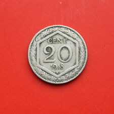 Italien: 20 Centesimi 1918, KM# 58, #F0519, SS-VF, Rome AM