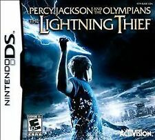Percy Jackson and the Olympians The Lightning Thief G Nintendo DS DSI XL LITE 3