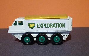 Matchbox Lesney Stickers 'BP EXPLORATION' for 61b Alvis Stalwart