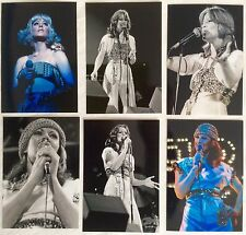 Frida Abba Live Concert Tour 1977 Photo Set 4 *Annifrid Lyngstad Fernando Ensam