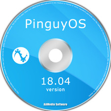 Pinguy OS 18.04 LTS 64bit Live Bootable DVD Rom Linux Operating System