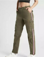 ATHLETA Summit Cargo Pant Olive Green Utility Hiking Pants Size 10 NWT