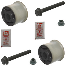 Control Arm Bushing Kit Inc Bolts Nuts Grease Fits Volkswagen Beetle Febi 39228