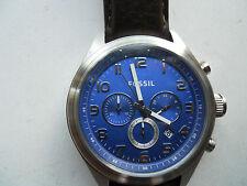 Fossil men's chronograph quartz,battery & water resistant Analog watch.BQ-1033