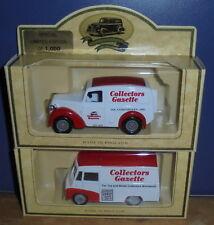 Lledo Days Gone Collectors Gazette LP58005 Morris Z & LP71011 Morris LD 150 Pair