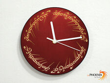 Lord of the Rings - The One Ring to Rule Them All - Wall Clock