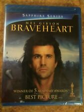 "Braveheart Blu-ray 2-Disc Sapphire Edition ""Like New"" *Read*"