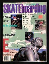 Transworld Skateboarding Mag - February 1988 - Steve Rocco Pro Interview CA Vans