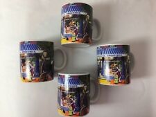 Walgreens Commemorative Mugs The First Walgreens Drugstore 1901 Set 4 Coffee Tea