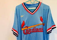 Nike Cooperstown Retro St. Louis Cardinals Albert Pujols Jersey Size Medium Blue