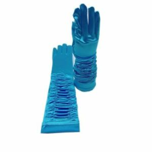 Ladies Fashion Long Women Gloves Rayon Satin Arm Sleeves Sexy Spring Autumn