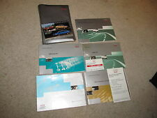 1998 98 AUDI A4 OWNERS MANUAL FULL SET OEM