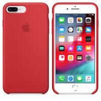 "ROT ECHTES ORIGINAL Apple Silicone Case Silikon Hülle iPhone 7 Plus 5.5"""