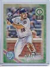 2018 Topps Gypsy Queen Travis D'Arnaud Green Retail Parallel Card