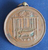 Medaille Ville D'Haubourdin - Gymnastique um 1890 Frankreich Bronze sf
