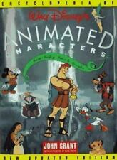 Walt Disneys Animated Characters HC by John Grant - Mickey Mouse Donald Duck