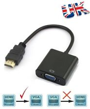 PC HDMI a VGA SVGA Conversor Adaptador RGB para Xbox Apple TV UK