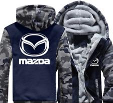 Mazda Automobile Mens Reißverschluss Jacke Mantel Winter Beiläufig Warm jacket